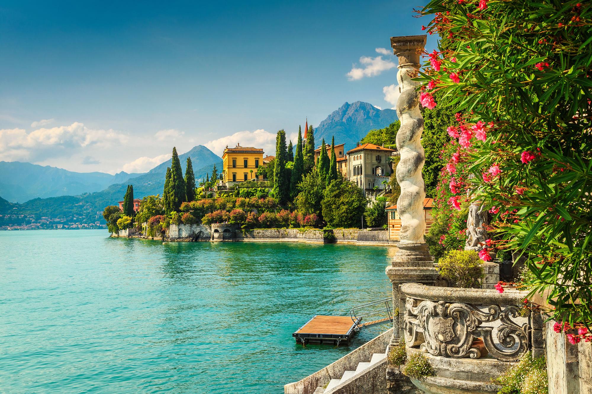Have a Spa Weekend at Lake Como