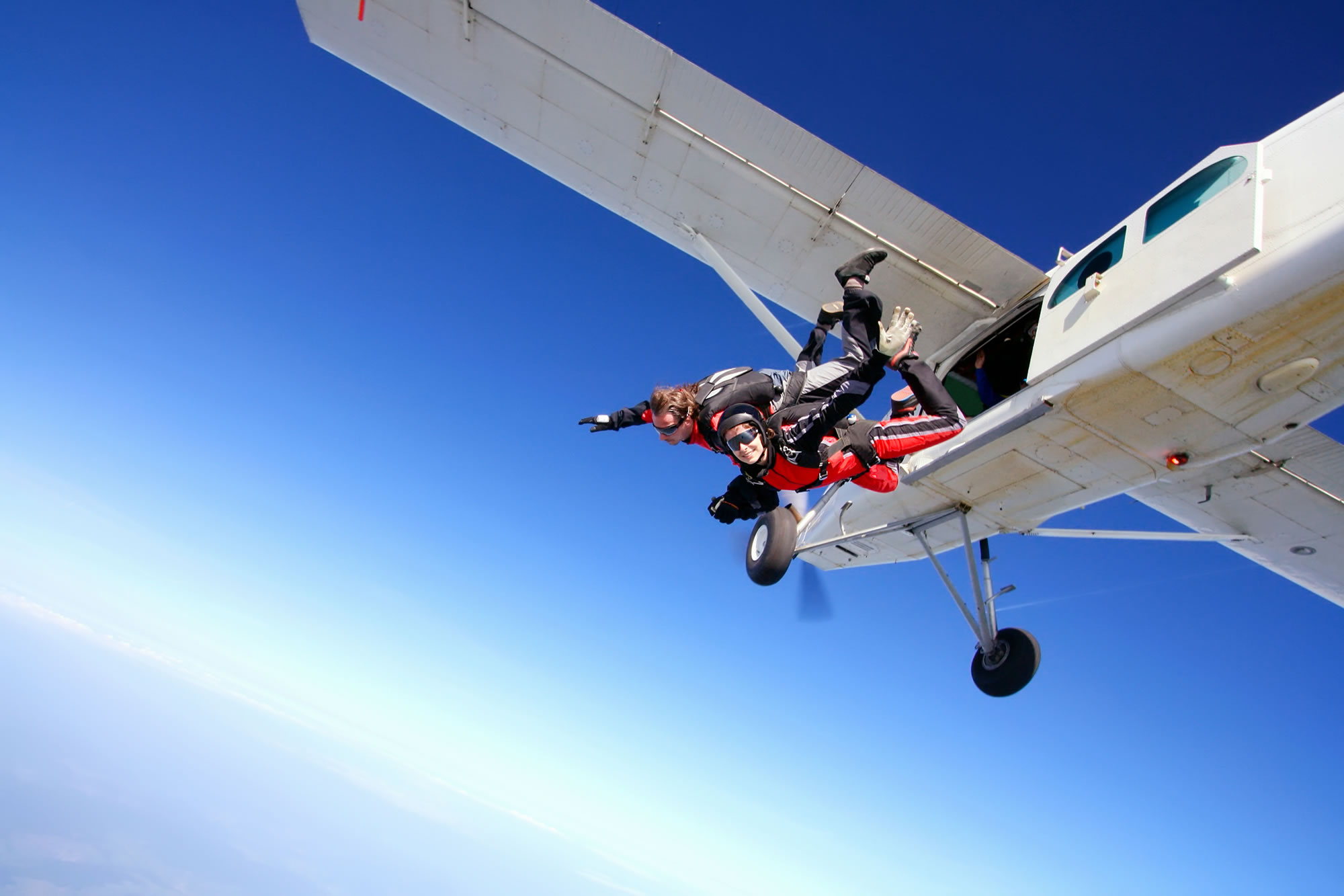 Do a Tandem Skydive