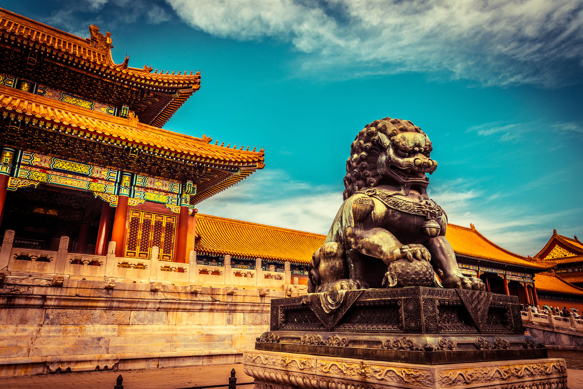 Explore the Forbidden City in Beijing, China