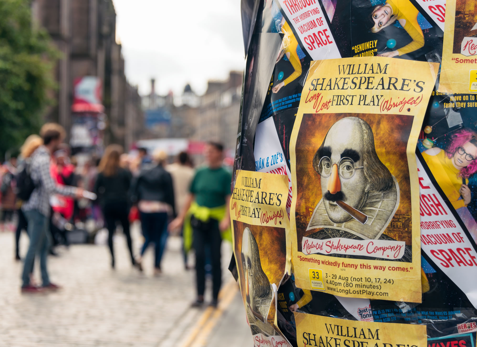 Visit the Edinburgh Fringe Festival