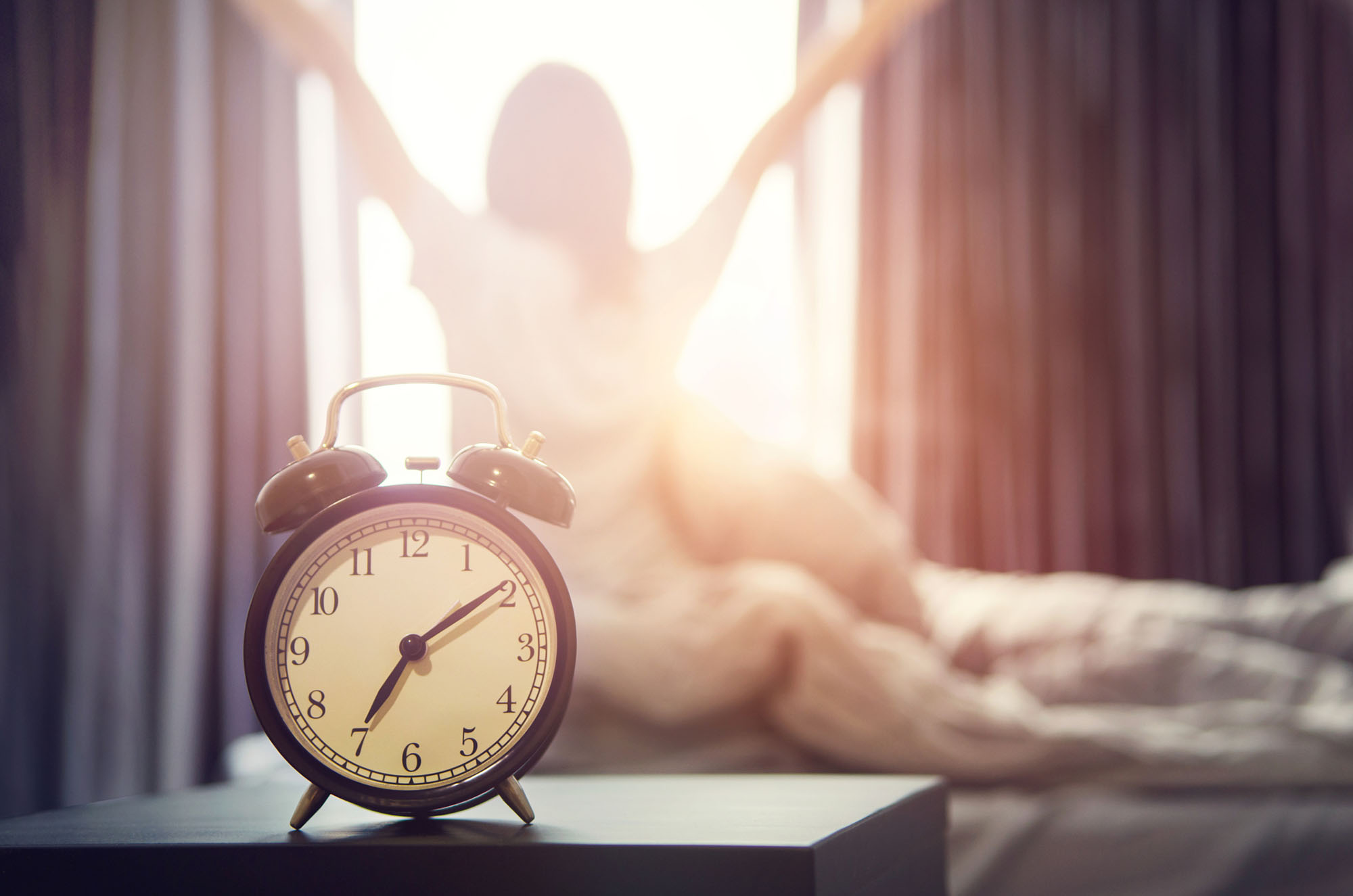 Develop a 10-minute daily routine to improve sleep