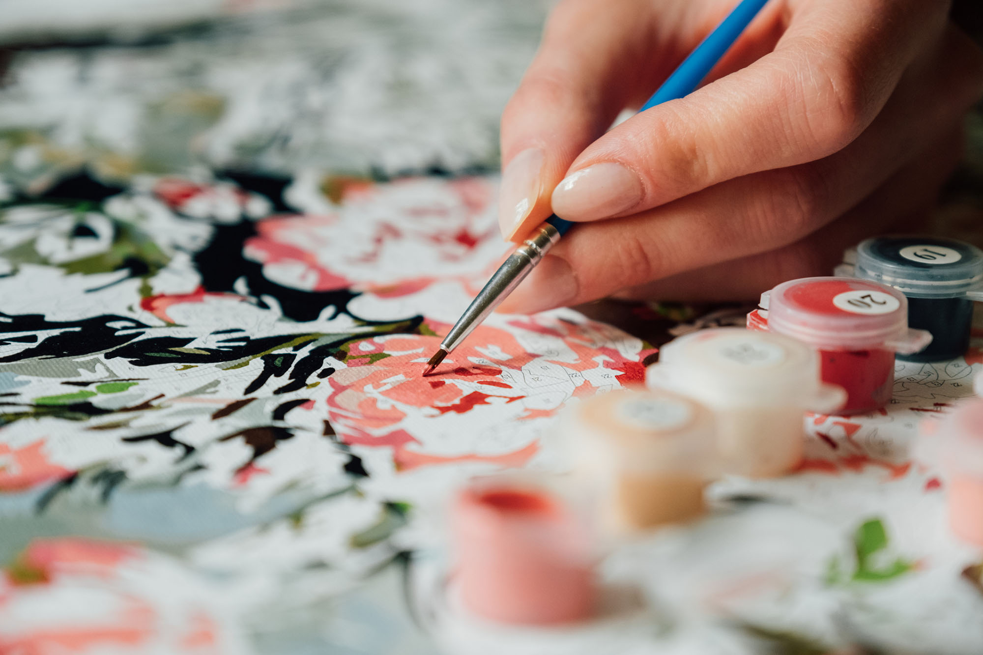 Get Creative With Painting By Numbers