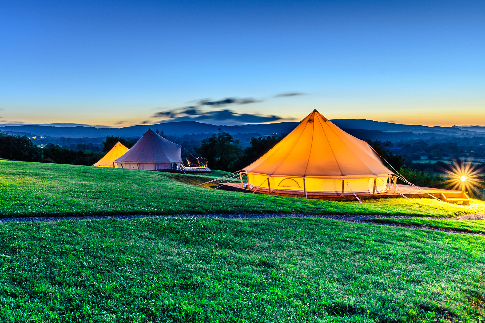 Try Glamping