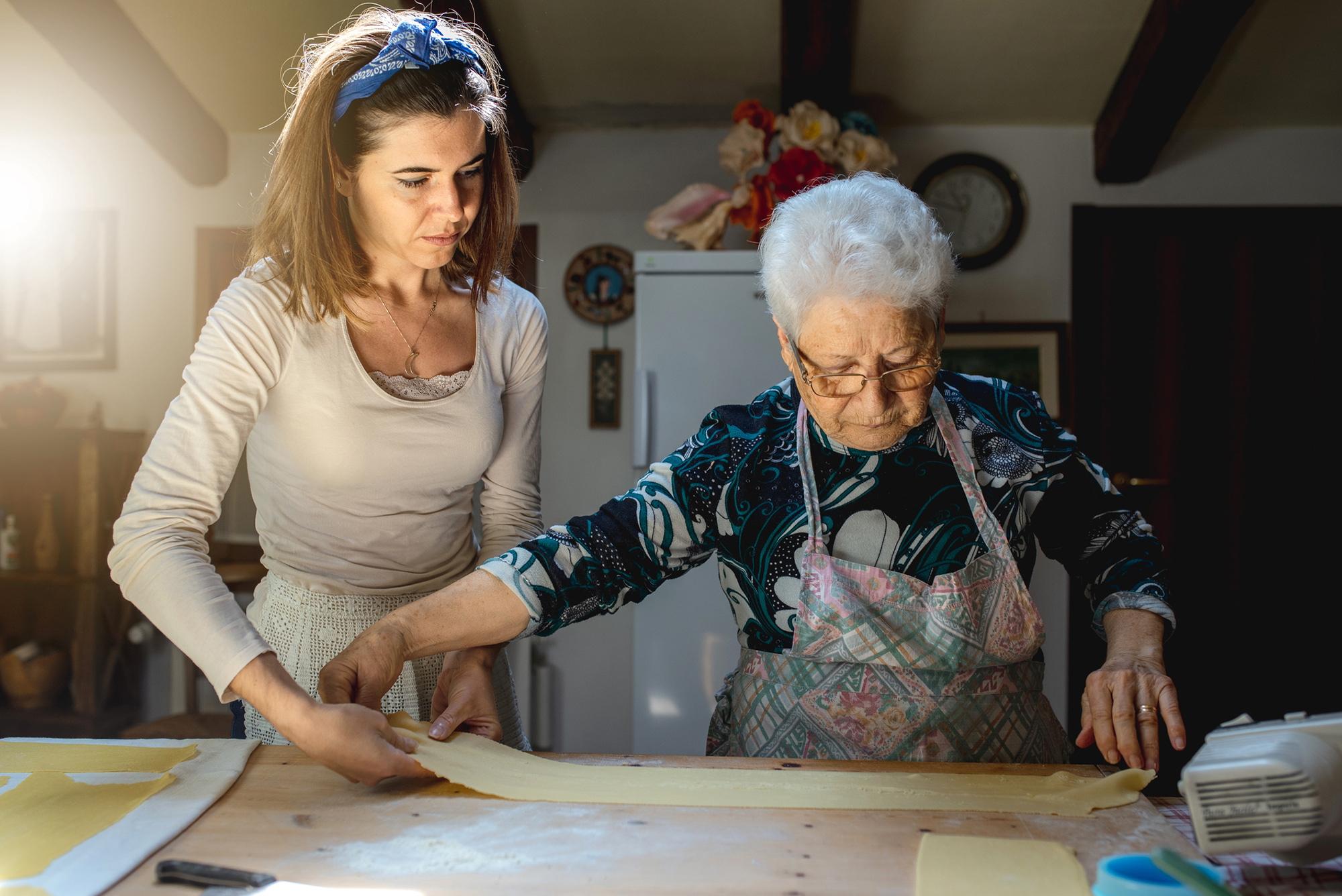 Try a pasta masterclass with an Italian nonna